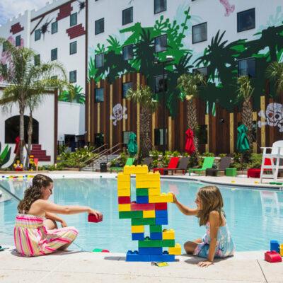 Pirate Island Hotel Pool