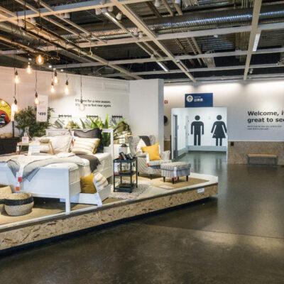IKEA showroom entrance