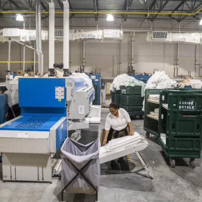 Caribe Royale Services Laundry