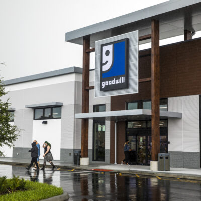 Goodwill Front Entrance