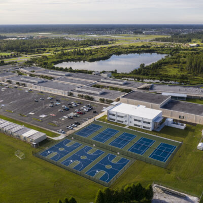 Aerial view of Sunlake
